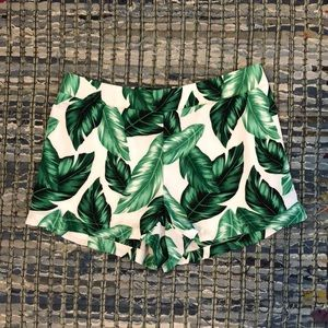 Palm Leave Shorts